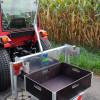 ZüKo Container und Palettenaufnahme mit Transportkiste