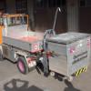 ZüKo Containeraufnahme mit hydraulischer Hebevorrichtung Trägerfahrzeug Meili